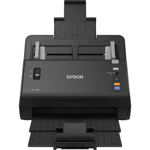 Epson B11B222202-RB WorkForce DS-760 Color Document Scanner - Certified Refurbished