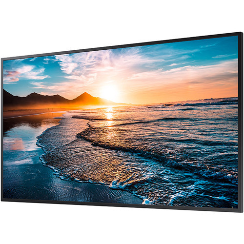 "Samsung LH43QHREBGCXZA-RB 43"" Edge-Lit 4K UHD LED Display - Certified Refurbished"