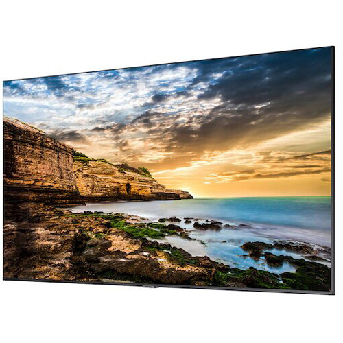 "Samsung LH65QETEPGCXGO-RB 65"" Direct-Lit 4K Crystal UHD LED Display - Certified Refurbished"