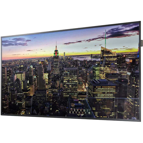 "Samsung LH75QMFPLGC/GO-RB 75"" QM-F Series Edge-Lit LED Display - Certified Refurbished"