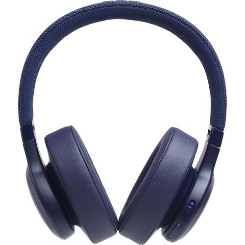 JBL JBLLIVE500BTBUAM-Z LIVE 500BT Wireless Headphones Blue -Refurbished