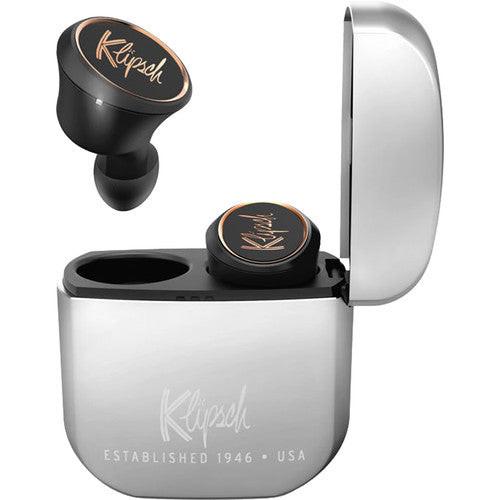 Klipsch K1067808 T5 True Wireless In-Ear Earphones, Silver/Black - Refurbished