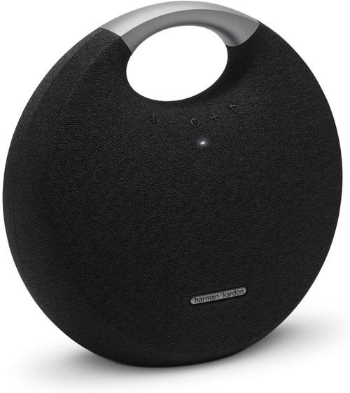 Harmon Kardon HKOS5BLKAM-Z Onyx Studio 5 Bluetooth Speaker, Black - Refurbished