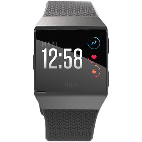 Fitbit FB503GYBK Ionic Fitness Smartwach - Charcoal/Gray