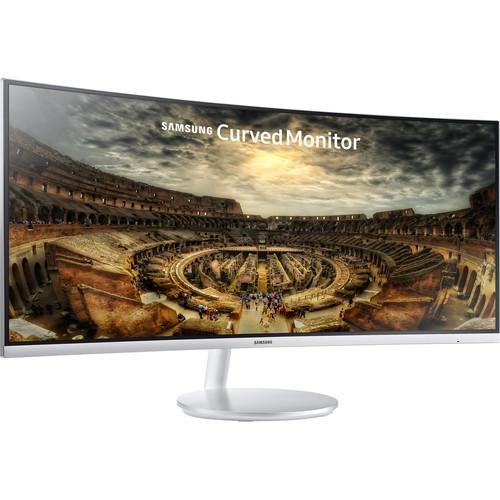 "Samsung LC34F791WQNXZA-RB 34"" CF791 Series Curved Widescreen Monitor Refurbished"