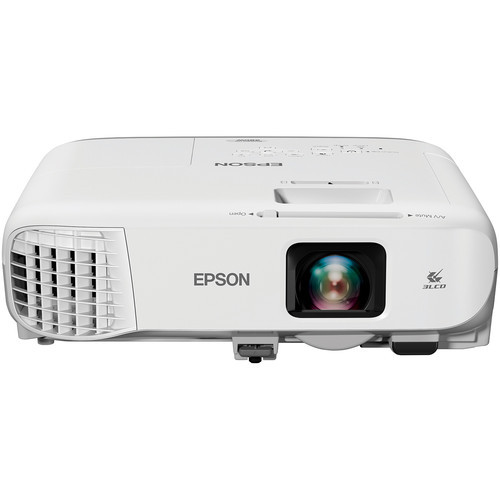 Epson V11H866020-RB PowerLite 980W 3800-Lumen WXGA 3LCD Projector – Refurbished