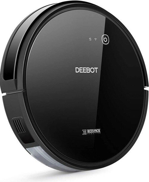 ECOVACS DEEBOT601-RB DEEBOT 601 Robotic Vacuum Cleaner, Black – Refurbished