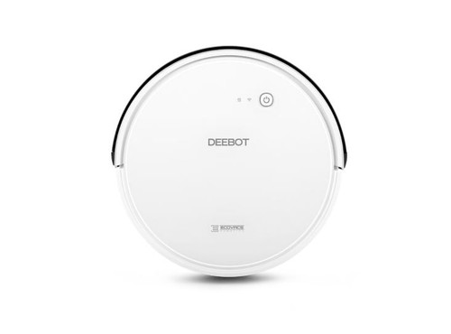 ECOVACS DEEBOT600-RB DEEBOT 600 Robotic Vacuum Cleaner, White – Refurbished