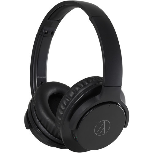 Audio-Technica ATH-ANC500BTBK-RB QuietPoint Headphones Black - Refurbished
