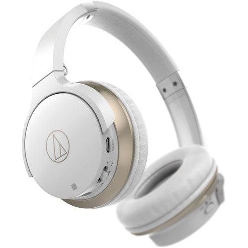Audio-Technica ATH-AR3BTWH-RB SonicFuel Wireless Headphones White - Refurbished