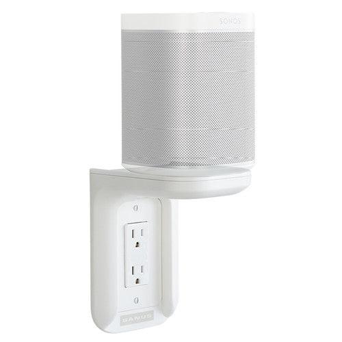 SANUS WSOS1-W1 Sonos One/One SL/ PLAY:1 Speakers Outlet Shelf White