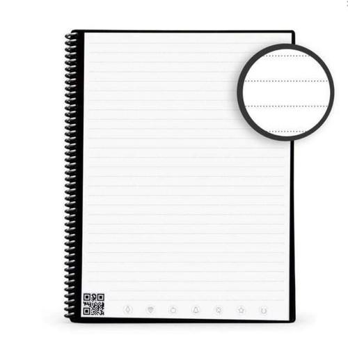 """Rocketbook EVR2-L-K-CKG Core Letter Smart Notebook Lined 32 Pages 8.5x 11"""" Green"""