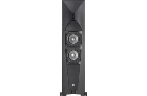 "JBL JBLSTUDIO580BK-Z Studio 580 200W 2x6.5"" Woofer Tower Loudspeaker Refurbished"