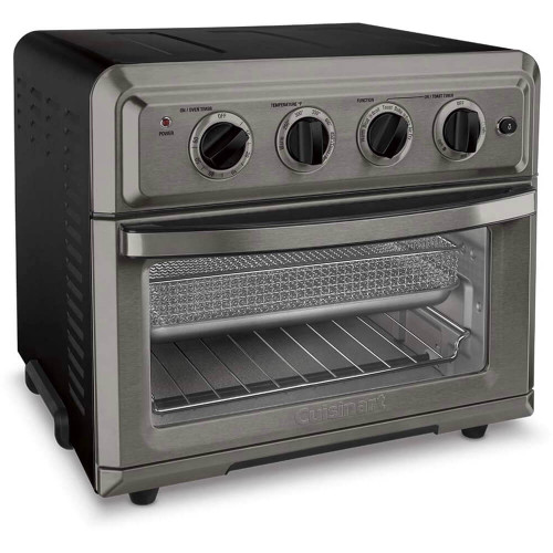 Cuisinart TOA-60BKSFR Air Fryer Convection Toaster Oven - Cert. Refurbished