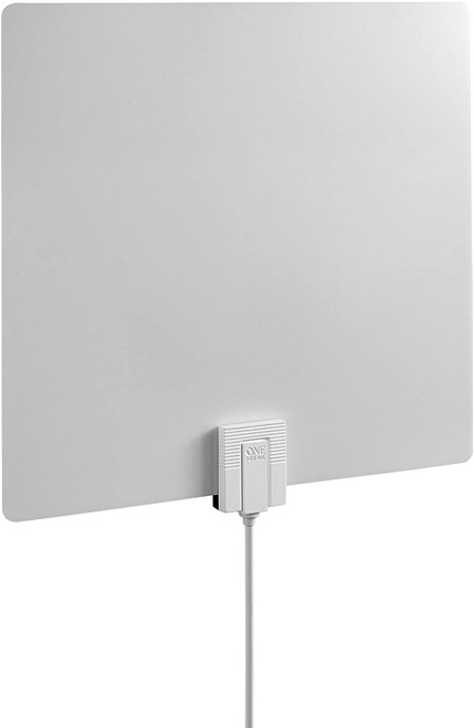 One For All U14541 Amplified HDTV 4K Antenna Over the Air TV Channels- White