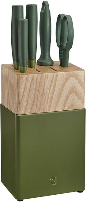Zwilling Henkel Z53070-110 Now S Knife Block Set 6pc Lime Green