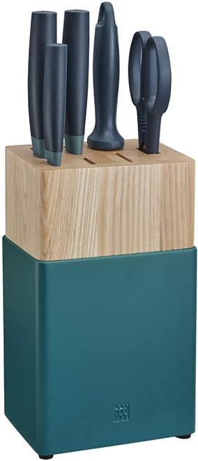 Zwilling Henkel Z53050-110 Now S Knife Block Set 6pc Blue