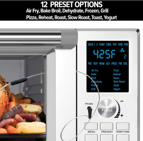 NuWave NW20892R Bravo XL Air Fry Convection Oven – Refurbished