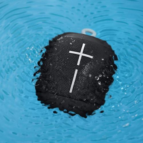 Ultimate Ears S984-000839X WONDERBOOM Bluetooth Speaker Black – Refurbished