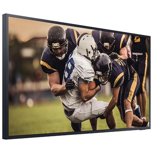 "Samsung LH75BHTELGFXGO-RB 75"" QLED UHD Outdoor TV Monitor -Certified Refurbished"