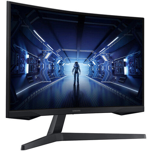 """Samsung LC27G54TQWNXZA-RB 27"""" WQHD 2560 x 1440 144Hz Gaming Curved Monitor- Certified Refurbished"""