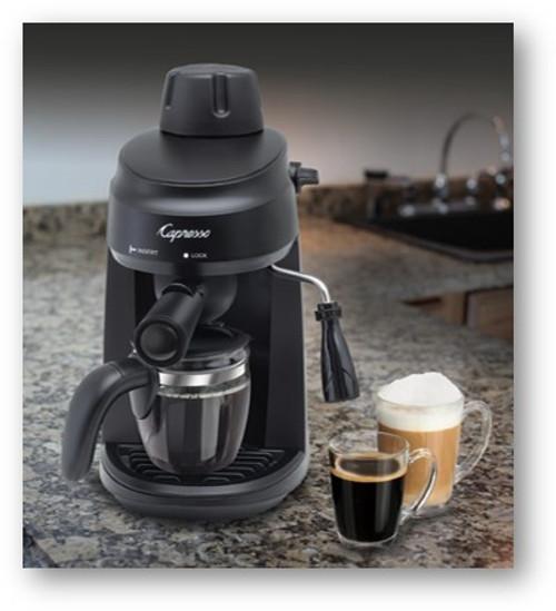 Capresso STEAMESPRESSO-RB 305.01 steam espresso & cappuccino machine - Certified Refurbished