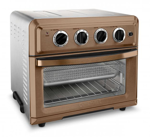 Cuisinart TOA-60CSFR Convection Toaster Oven Airfryer, Copper - Certified Refurbished
