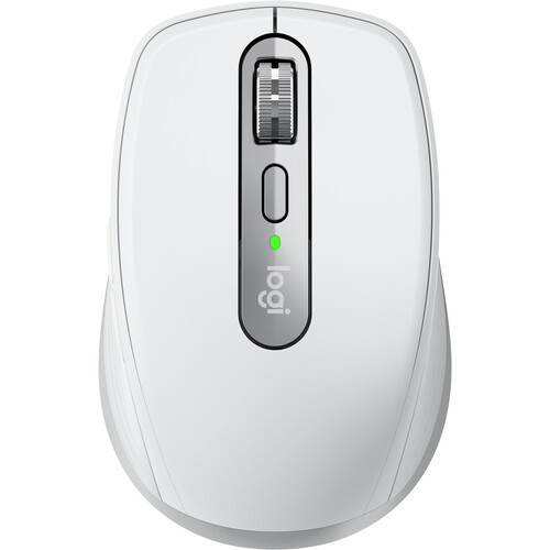 Logitech M910-005899X MX Anywhere 3 for Mac Compact Performance Mouse Pale Gray - Seller Refurbished
