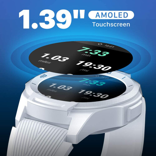 TicWatch P1022000500-RB S2 Waterproof Smartwatch Android and iOS White - Certified Refurbished