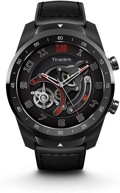 TicWatch P1031000600-RB Pro GPS Bluetooth iPhone & Android Smartwatch Black - Certified Refurbished