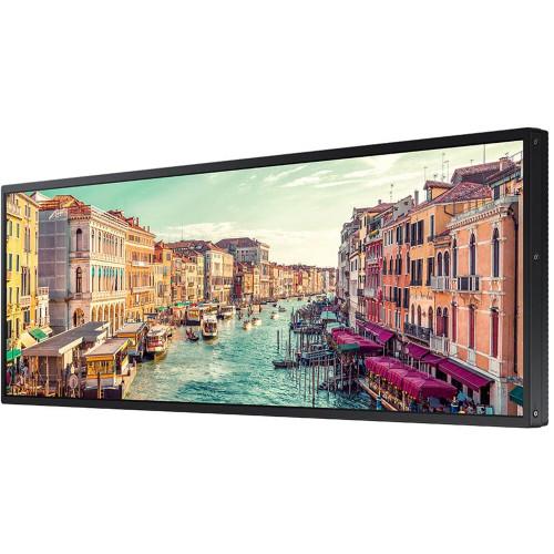 "Samsung LH37SHREBGBXZA-RB SHR 37"" Class Stretched Widescreen 1920 x 540 60Hz Smart Digital Signage LED Display - Certified Refurbished"
