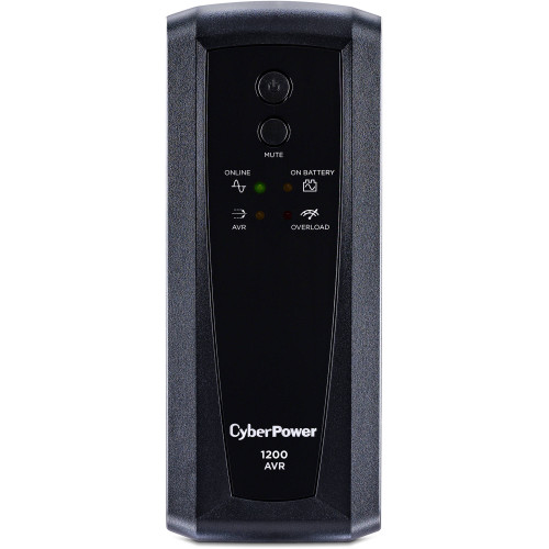 CyberPower CP1200AVR-R AVR 1200VA/720W 8 Outlets, USB Mini-Tower UPS Certified Refurbished