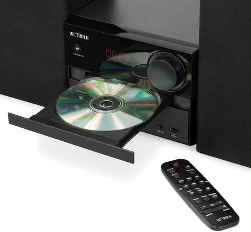 Victrola VS-115 Bluetooth CD Stereo System