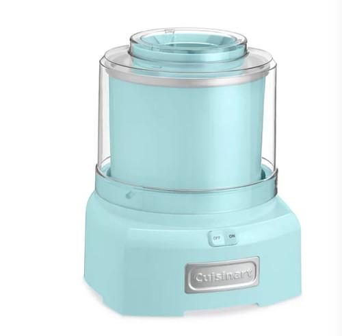 Cuisinart ICE-21LAQFR Ice Cream Maker, Aqua -  Certified Refurbished