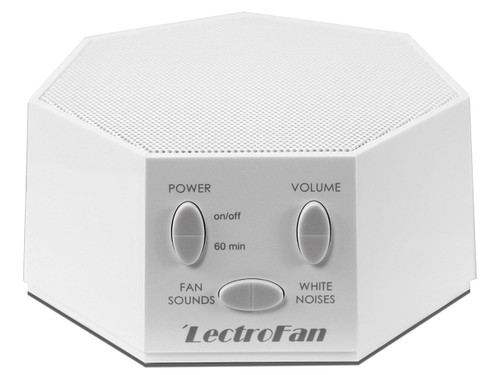 LectroFan ASM1007-WF White Noise and Fan Sound Machine- White
