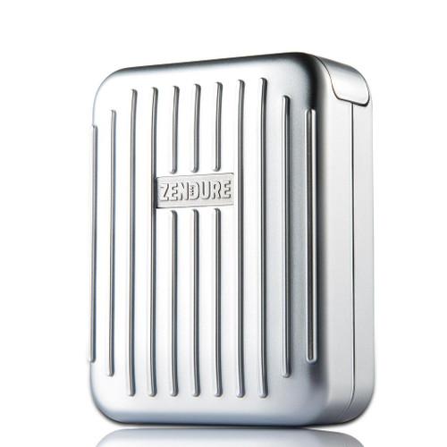 A-Series 4-Port Desktop/Wall Charger Silver - ZDAZ4P