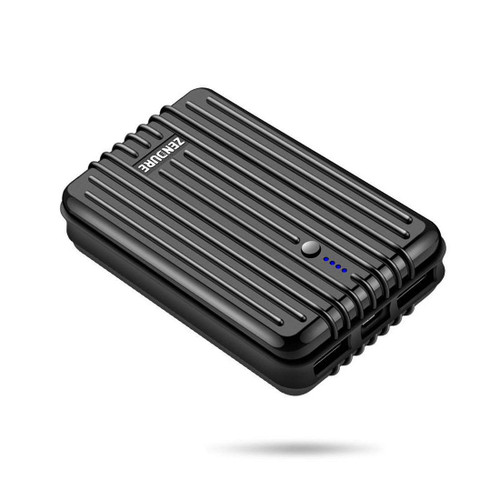 ZENDURE A3 Portable Charger Power Bank External Battery 10000mAh Ultra-durable for iPhone, iPad, Android and More, Tech Advisor Winner 2014-2017 – Black - ZDA3TC-B