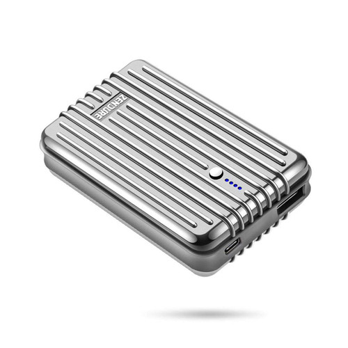 ZENDURE A3 Portable Charger Power Bank External Battery 10000mAh Ultra-durable for iPhone, iPad, Android and More, Tech Advisor Winner 2014-2017 – Silver ZDA3TC-S