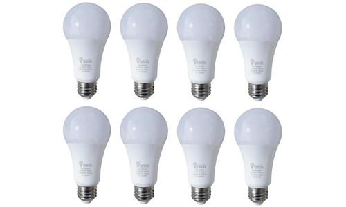 LyfeLite Rechargeable Emergency LED 9W Bulbs (Soft White) - 8 Pack