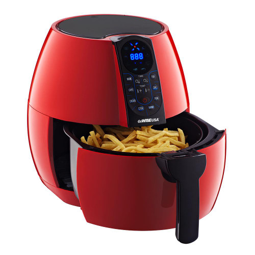 Gowise GW22639 3.7 Qt Air Fryer - Red