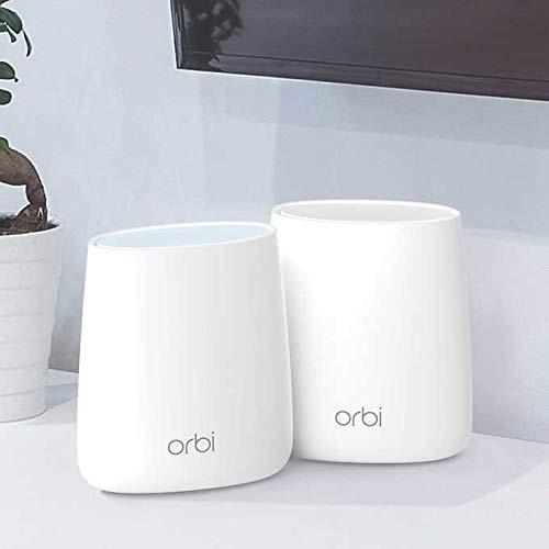 NETGEAR Orbi RBK22-100NAS Home Mesh WiFi System Compact Design