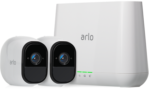 Arlo VMS4230-100NAR Pro Wire-Free Security System with 2x HD 720P Cameras with 2-Way Audio - Certified Refurbished