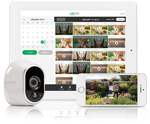 Arlo VMC3030-100NAR  Security Camera Add-On - Certified Refurbished