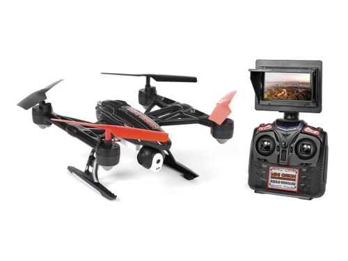 World Tech Toys Elite Mini Orion 33884 2.4GHz 4.5CH LCD Live-View Camera RC Drone- Black