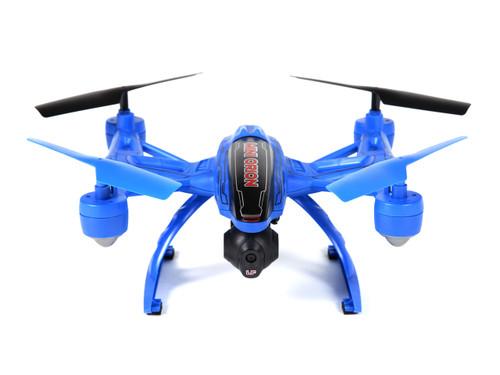 World Tech Toys Elite Mini Orion 33884 2.4GHz 4.5CH LCD Live-View Camera RC Drone- Blue