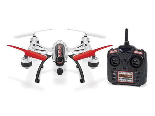 World Tech Toys Elite Mini Orion 33774 2.4GHz 4.5CH LCD Picture/Video Camera RC Drone - White