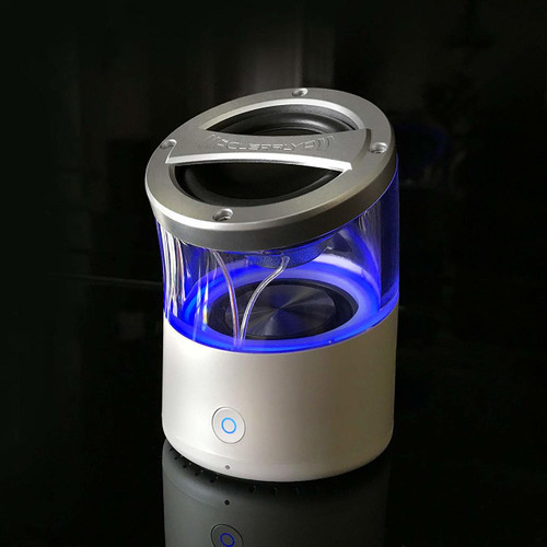Clearly Portable Home Stereo Bluetooth Speaker with True Wireless Stereo