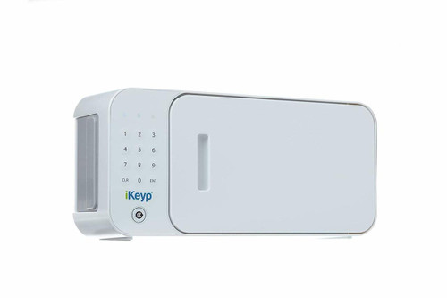 iKeyp Pro KYPW Smart Wi-Fi Safe with Electronic KeyPad - White