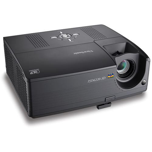 ViewSonic PJD6220-3D-S 720p DLP Home Theater Projector - Refurbished