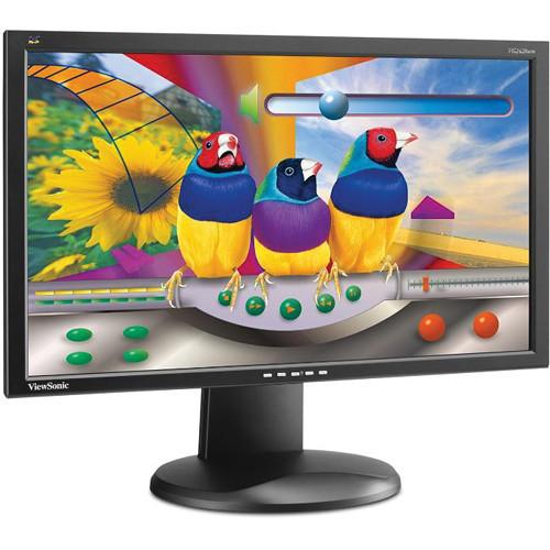 "ViewSonic VG2428WM-LED-S Widescreen 24"" LED Backlit LCD Monitor - Refurbished"